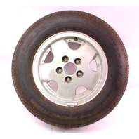 "Genuine VW 14"" x 6"" Alloy Spare Wheel Rim 80-91 Vanagon T3  With Tire"
