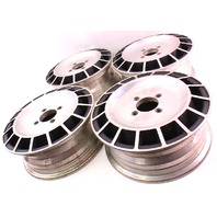 "13"" x 5 Vintage Turbo Fan Wheels Rims Set 4x100 VW Rabbit Jetta Scirocco MK1 MK2"