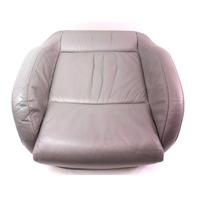 Front Sport Seat Cushion & Cover 02-05 VW Jetta GLI GTI MK4 - Grey Leather