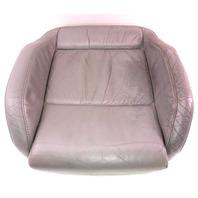 LH Front Sport Seat Cushion & Cover 02-05 VW Jetta GLI GTI MK4 - Grey Leather