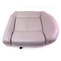 LH Rear Sport Seat Cushion & Cover 02-05 VW Jetta GLI GTI MK4 - Grey Leather