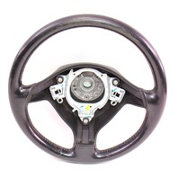 3 Spoke Sport Steering Wheel VW Jetta GTI MK4 Black Leather - Genuine
