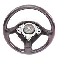 3 Spoke Sport Steering Wheel & Airbag VW Jetta GTI MK4 Black Leather - Genuine
