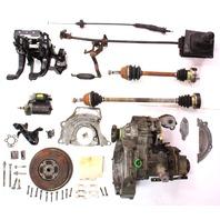Manual Transmission Swap Parts Kit VW Jetta GTI Cabrio MK3 - 5 Speed 2.0 ABA DFQ
