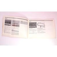 Owners Manual Book 1985 Audi 5000 S - Genuine