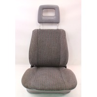 RH Front Grey Bucket Seat Captains Chair 80-91 VW Vanagon Transporter T3