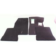 Lloyd Mats Floor Carpet Interior 85-92 VW Jetta Golf GTI MK2 - Black