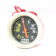 Old School Vintage Auto Meter Turbo Boost Gauge