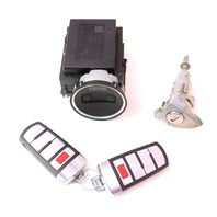 Ignition Lock Set & Key Fob Remote 06-10 VW Passat B6 Genuine ~ 3C0 905 843 P
