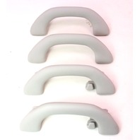 Upper Ceiling Grab Handle Set 06-10 VW Passat B6 - Grey - 1K0 857 607 J / H