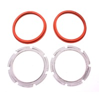 Fuel Pump Lock Ring & Seal Set 02-08 Audi A4 S4 B6 B7 - Genuine - 16 658 028