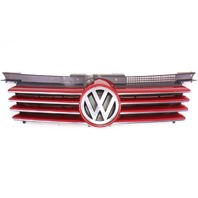 Front Radiator Upper Grill 99-05 VW Jetta MK4 Grille - LA3W Red Spice - Genuine