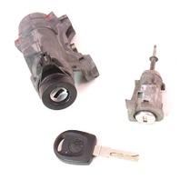 Lock Key Set Ignition Door Handle 99-05 VW Jetta Golf GTI MK4 . 4B0 905 851 B