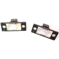 License Plate Trunk Lights Lamps Lens 99-05 VW Jetta MK4 Genuine - 1J5 943 021 A
