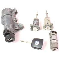 Ignition & Key Lock Cylinder Set 98-01 VW Passat B5 MT - Genuine - 4B0 905 851 A