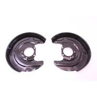 Rear Disc Brake Dust Shield Covers 98-05 VW Passat B5.5 Genuine ~ 8E0 615 612 C