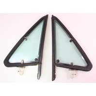 Bolt Thru Vent Quarter Window Door Glass & Seal 75-84 VW Rabbit Pickup Jetta MK1