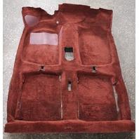 Red Interior Floor Carpet 75-84 Rabbit GTI MK1 Genuine Original VW Part
