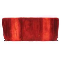 Red Cloth Rear Seat Back Rest 83-84 VW Rabbit GTI MK1 - Genuine