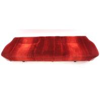 Red Cloth Rear Seat Lower Cushion 83-84 VW Rabbit GTI MK1 - Genuine