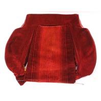 RH Front Seat Backrest Back Rest VW 83-84 Rabbit GTI MK1 - Red Cloth