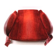Front Seat Cushion & Bolsters VW 83-84 Rabbit GTI MK1 - Red Cloth - Genuine