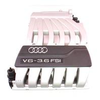 Intake Manifold 07-10 VW Audi Q7 3.6 VR6 BHK - 03H 133 201 D / 03H 133 185 G