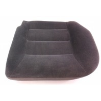 LH Rear Back Seat Cushion Foam & Cover 99-01 VW Jetta Golf MK4 ~ Black Cloth