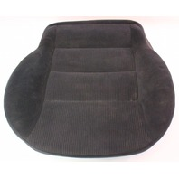 Front Seat Cushion & Cover 99-01 VW Jetta Golf MK4 Black Cloth ~ Genuine