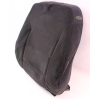 RH Front Seat Back Rest Foam & Cover 99-01 VW Jetta Golf MK4 Black Cloth Genuine