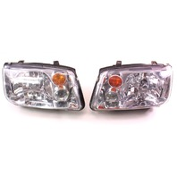 Headlight Head Light Lamp Set 03-05 VW Jetta MK4 - Aftermarket