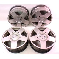 15 x 6 Avus Alloy Wheel Rim Set Of 4 VW Jetta Golf MK4 - Genuine - 1J0 601 025 B