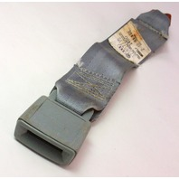 Rear Seatbelt Receiver Buckle 75-84 VW Rabbit MK1 Seat Belt - Grey - 175 857 739