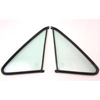 Non Vented Door Quarter Window Glass & Seal 75-84 VW Rabbit Pickup Jetta MK1 -