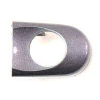 Door Handle Key Trim Thumb Cap Cover 98-10 VW Beetle ~ LD7X Grey ~ 1C0 837 879