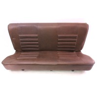 Brown Vinyl Rear Back Seat 75-84 VW Rabbit MK1 - Genuine