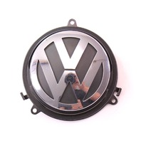 Trunk Emblem Badge Handle 05-09 VW Rabbit GTI Golf MK5 - Genuine - 3C5 827 469 C