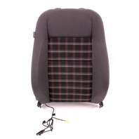 RH Front Seat Back Rest 05-10 VW Rabbit GTI Jetta MK5 - Interlagos Sport Plaid