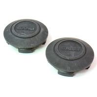 2x Wheel Center Hub Cap Hubcap SAAB 89 38 631 - 60mm - Genuine