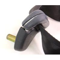RH Rear Seat Belt SeatBelt 85-92 VW Jetta Golf MK2 Black - Genuine - 165 857 806
