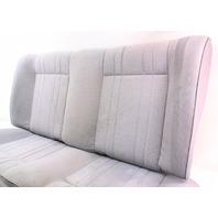 Rear Back Seat Seats 85-92 VW Jetta Golf MK2 Grey - Genuine