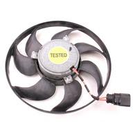 RH Radiator Cooling Fan 06-07 Passat B6 - Genuine Brose - 1KM 959 455 E