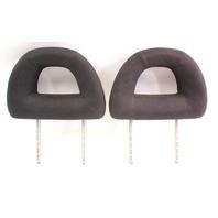 Rear Donut Headrests 98-05 VW New Beetle Head Rests - Black Cloth - Genuine