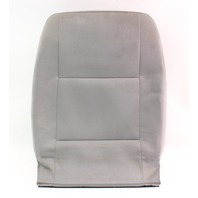 RH Front Seat Back Rest & Cover 02-05 VW Jetta Golf MK4 Grey Cloth - Genuine