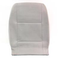 LH Front Seat Back Rest & Cover 02-05 VW Jetta Golf MK4 Grey Cloth - Genuine
