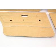 Interior Door Card Panel Full Set VW Rabbit MK1 - Genuine - Brown