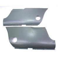 Rear Lower Fender Body Panels Pair 56-74 VW Karmann Ghia NOS - 141 404 501