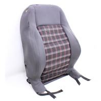 RH Front Seat Back Rest 05-10 VW Rabbit GTI Jetta MK5 ~ Interlagos Sport Plaid