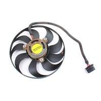 RH Electric Radiator Cooling Fan 99-05 VW Jetta Golf GTI MK4 - Genuine