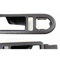 Brushed Aluminum Interior Door Pull Handles 98-10 VW Beetle Turbo S - Genuine